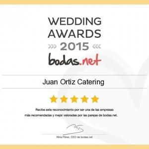 Premio bodas.net mejores catering sevilla