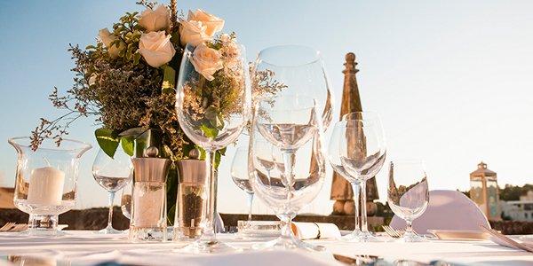menu boda diamante