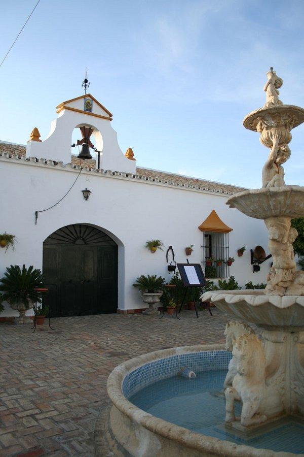 Hacienda Mendieta fuente exterior