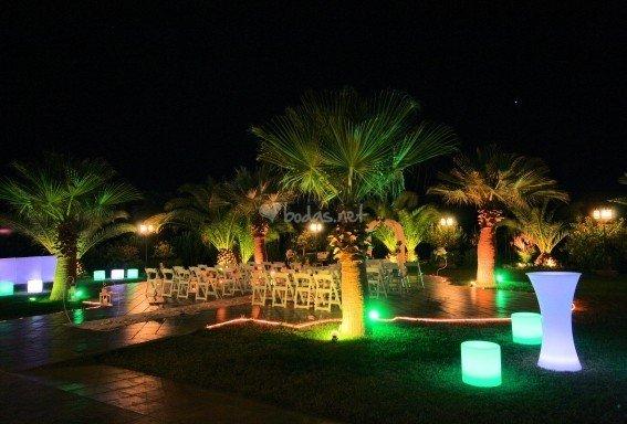 Hacienda Veracruz Sevilla de noche