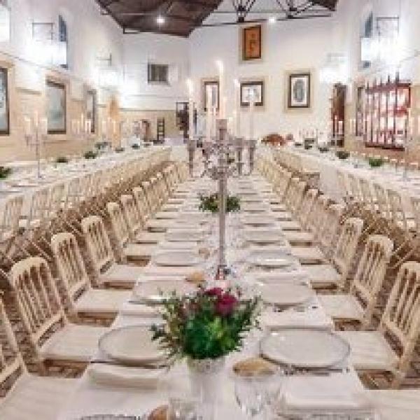 Hacienda Doña Caridad salón interior